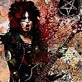 Nikki Sixx - Motley Crue  by Ryan Rock Artist