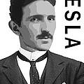 Nikola Tesla 2 by Daniel Hagerman