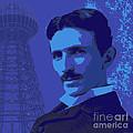 Nikola Tesla #2 by Jean luc Comperat