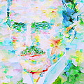 Nikola Tesla Watercolor Portrait by Fabrizio Cassetta