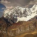 Ninashanca Rondoy And Jirishanca Peaks by Colin Monteath