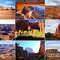 Nine Utah Landmarks by Catherine Sherman