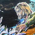 Nirvana - Kurt Cobain by Lucia Hoogervorst