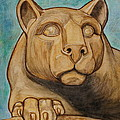 Nittany Lion by Megan Cohen