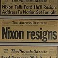 Nixon Resigns by Richard Jenkins