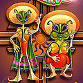 New Mexico Land Of Aliens And Hot Chile by Ricardo Chavez-Mendez