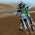 Motorcross No. 116 by Jerry Fornarotto