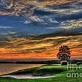 No Better Day Golf Landscape Art by Reid Callaway