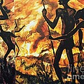 No Fire For The Antelopes by Pg Reproductions
