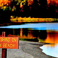 No Fishing IIi by Kathy Sampson