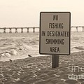 No Fishing by Michelle Powell