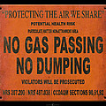 No Gas Passing by Tim Nyberg