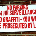 No Graffiti by Ed Weidman