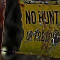No Hunting by Patrick Moore