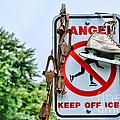 No Ice Skating Today by Paul Ward