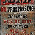 no Trespassing by JQ Licensing