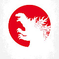 No029-2 My Godzilla 1954 minimal movie poster.jpg by Chungkong Art