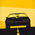 No051 My Mad Max Minimal Movie Poster by Chungkong Art