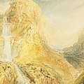 No.0571 Mossdale Fall, Yorkshire by Joseph Mallord William Turner