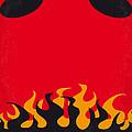 No131 My Hellboy Minimal Movie Poster by Chungkong Art