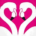 No142 My Pink Flamingos Minimal Movie Poster by Chungkong Art