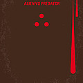 No148 My Avp Minimal Movie Poster by Chungkong Art