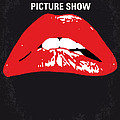 No153 My The Rocky Horror Picture Show Minimal Movie Poster by Chungkong Art