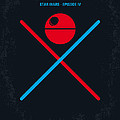 No154 My Star Wars Episode Iv A New Hope Minimal Movie Poster by Chungkong Art