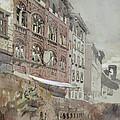 No.1590 Palazzo Agostini, Pisa, 1845 by John Ruskin