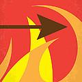 No175 My Hunger Games Minimal Movie Poster by Chungkong Art