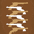 No197 My The Magnificent Seven Minimal Movie Poster by Chungkong Art