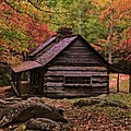 Noah Ogle Place In The Smoky Mountains by Dan Sproul