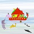 Noah's Ark by Barbara Moignard