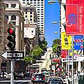 Nob Hill - San Francisco by John Waclo