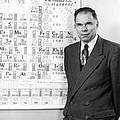 Nobel Winner Glenn Seaborg by Underwood Archives