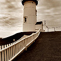 Nobska Lighthouse by Skip Willits
