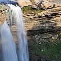 Noccalula Falls In Gadsden Alabama by Bruce Gourley