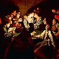 Nocturnal Concert by Jean  Leclerc