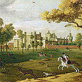 Nonsuch Palace In The Time Of King by Flemish School