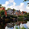 Noorder Amstelkanaal Amsterdam by Ursa Davis