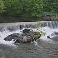 Nora Mill Dam - Chattahoochee River by rd Erickson
