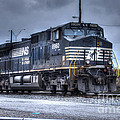 Norfolk Southern #8960 Engine II by J M Lister