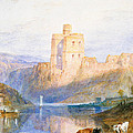 Norham Castle An Illustration To Marmion By Sir Walter Scott by Joseph Mallord William Turner