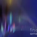 Norhtern Lights - Fractal by Elle Arden Walby