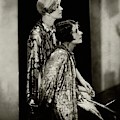Norma And Constance Talmadge by Edward Steichen