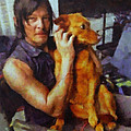Norman And Charlie  by Janice MacLellan