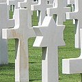 Normandy American Cemetery by HEVi FineArt