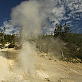 Norris Geyser Basin - Beryl Spring by Christiane Schulze Art And Photography