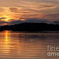 Norris Lake Sunrise by Douglas Stucky