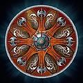 Norse Aegishjalmur Shield by Ricky Barnes